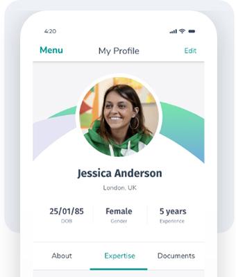 Build profile icon
